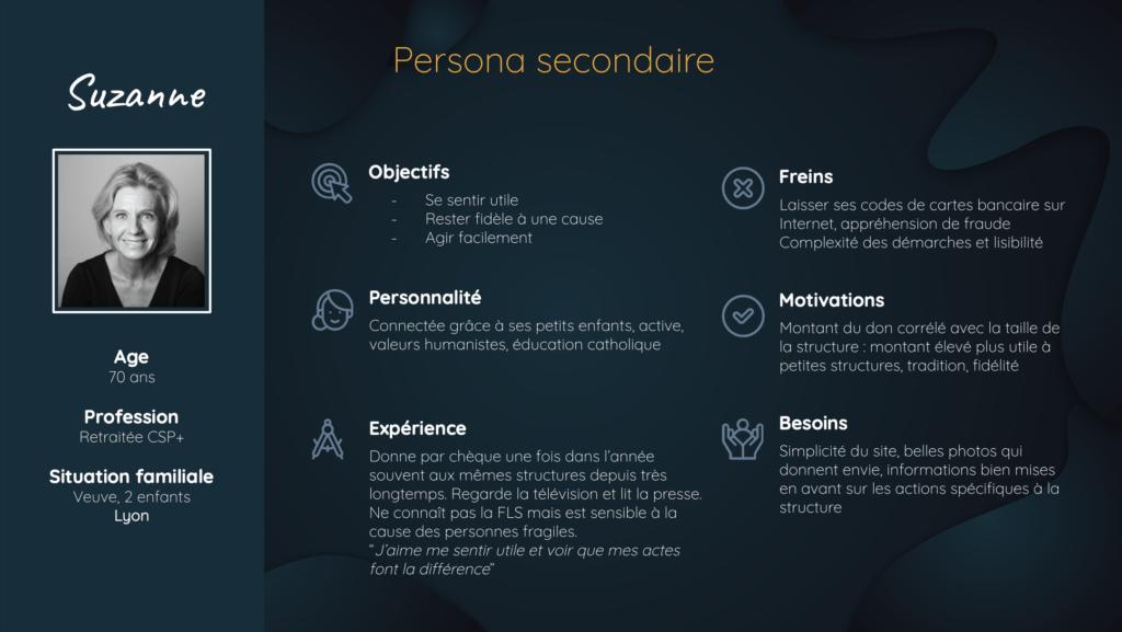 persona secondaire